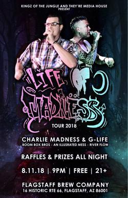 8-11-18 (Madness, G-Life, Ill Mess & Riv