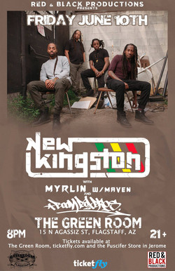 6-10-16 (New Kingston, Myrlin & Maven)