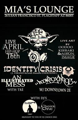 4-16-16 (Identity Crisis & An Illustrate