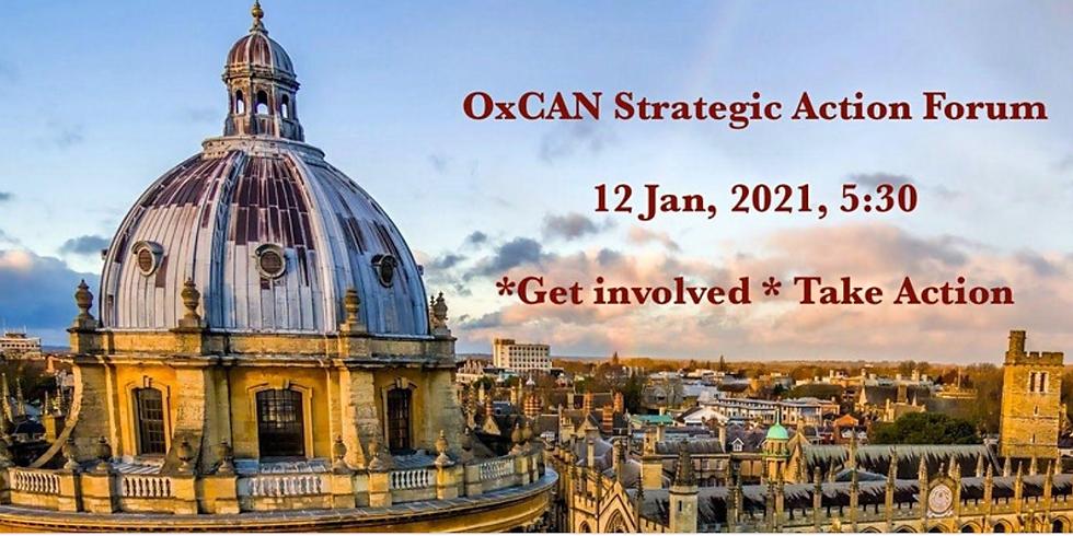OXCAN Strategic Action Forum