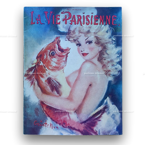 La Vie Parisienne, April 1957.