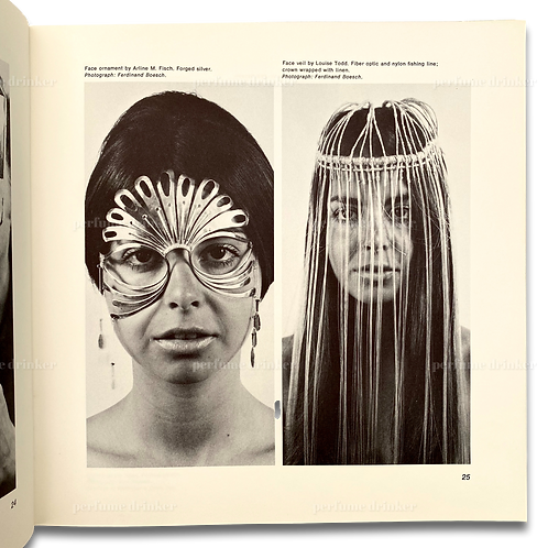 Face Coverings, 1971. Exhibition catalog from the Museum of Contemporary Crafts.