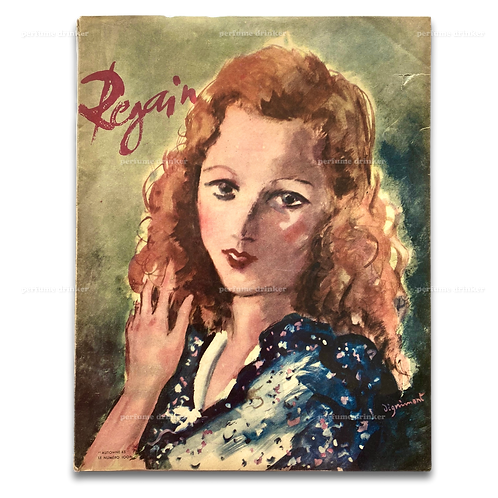 Regain, Automne 1945. Scarce French magazine.