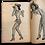 Thumbnail: Lot of 6 WWII-era Wartime Pinup Comic Magazines, 1940s.