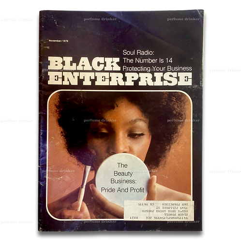 Black Enterprise, November 1970. Beauty Business edition.