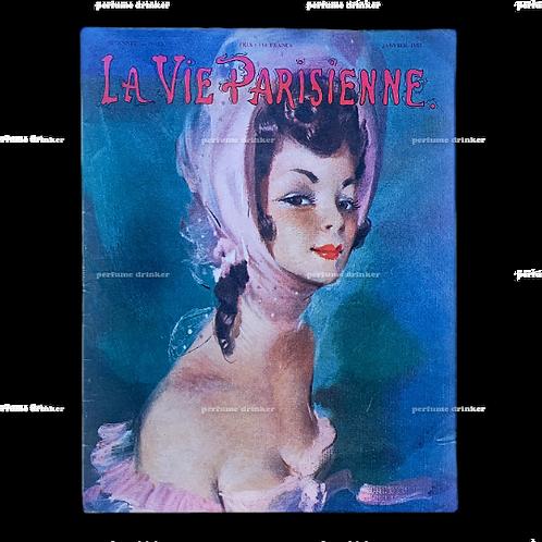 La Vie Parisienne, January 1957.