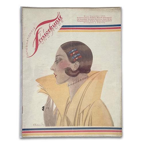 Internationale Frisierkunst und Mode, 5 copies from 1925-1932. ON HOLD FOR CLAUS