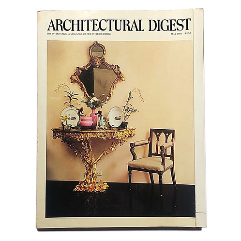Architectural Digest, May 1980.