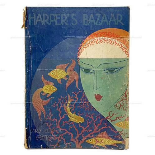 Harper's Bazaar, June 1931. With cover illustration by Erté.