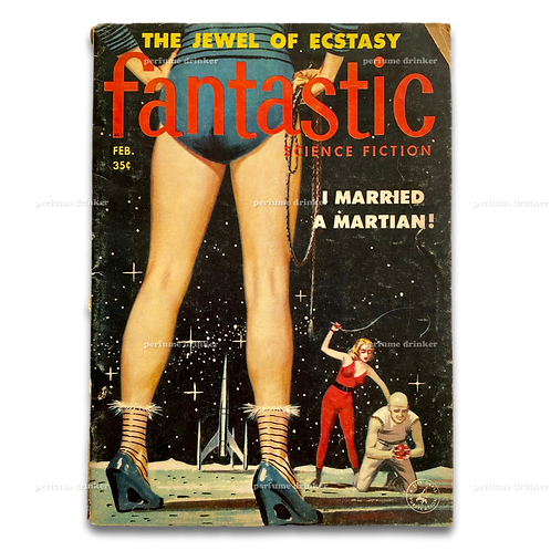 Fantastic Science Fiction, February 1958.