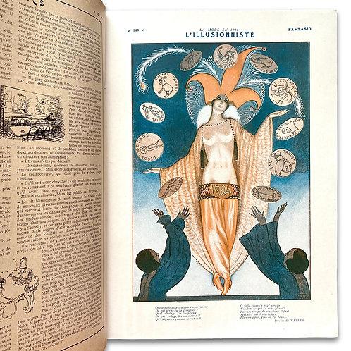 Fantasio, January 1, 1924.