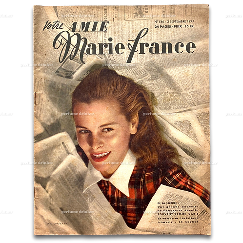 Votre Amie Marie France, September 2, 1947.