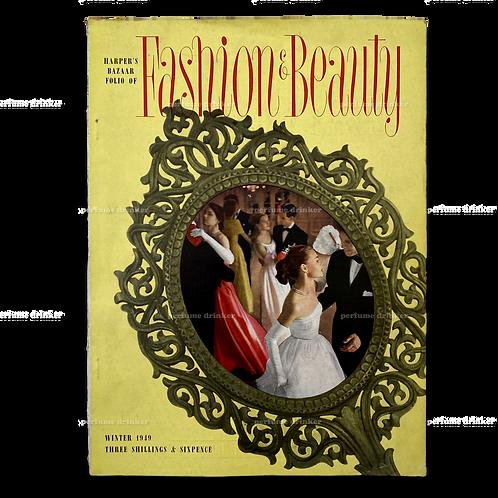 Harper's Bazaar UK, Folio of Fashion and Beauty, Winter 1949.