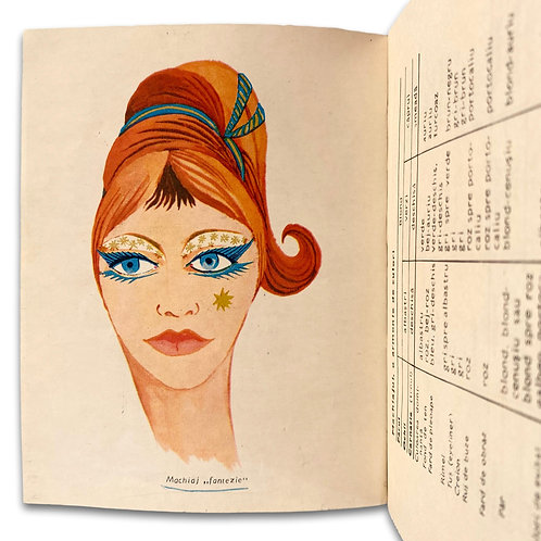 Set of four Romanian beauty guides, 1969-1983.