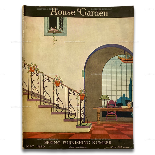 House & Garden, May 1920. Spring Furnishing Number.