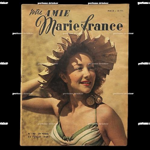 Votre Amie Marie France, July 22, 1947.