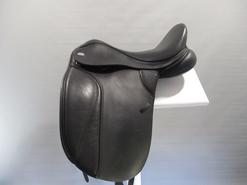 "Thorowgood T8 High Profile Dressage Saddle 17.5"""
