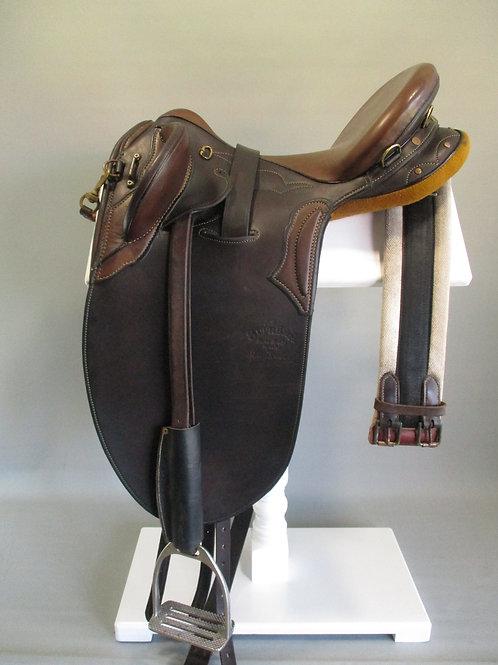 "Syd Hill Steve Brady Special Stock Saddle 16"" M/MW"