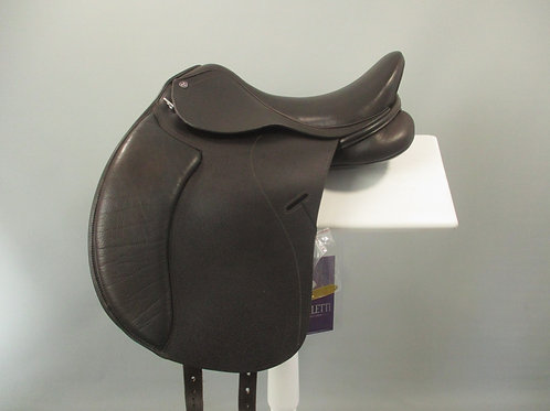 "Cavaletti Dressage Saddle 15.5"" BROWN"
