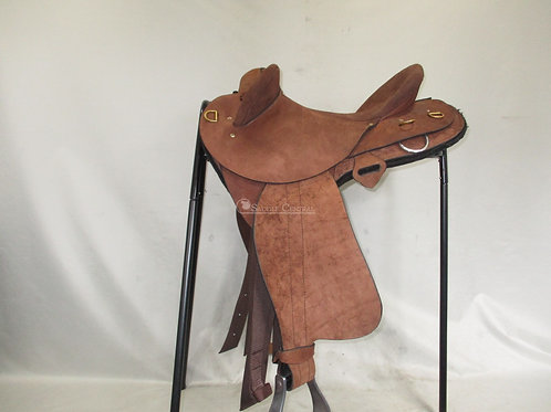 """Southern Cross Half Breed Saddle 16"""" XW fit"""