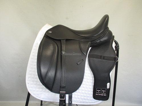 "Thorowgood T8 Low Profile Dressage Saddle 17"""