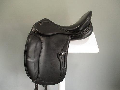 "Prestige Optimax Dressage Saddle 17"" M"
