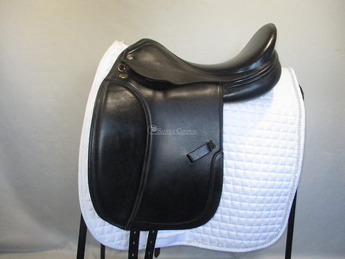 "Harry Dabbs Elegant 17.5"" Dressage Saddle"