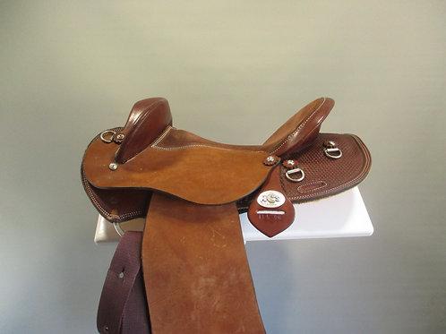 Marsh Carney Cattleman Half Breed Saddle