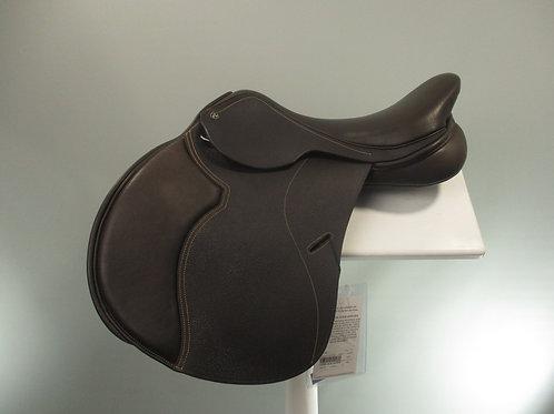 """Cavaletti Jump Saddle 16.5"""" BROWN"""