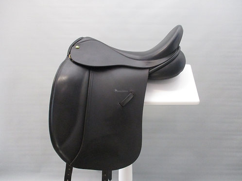 "Ideal Lynx Dressage Saddle 17.5"" XW"
