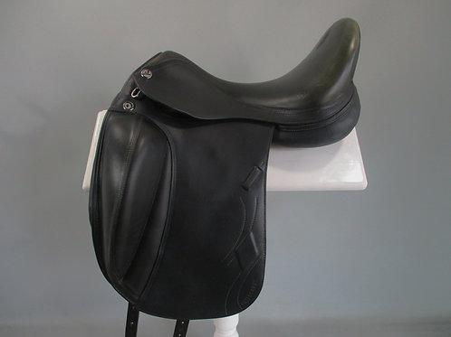 "Prestige Philosophy K Dressage Saddle 17"" MW"