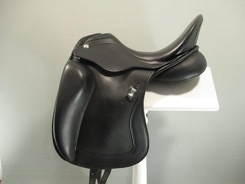 """Zaldi Kira Klass Dressage Saddle 17.5"""" M/MW"""