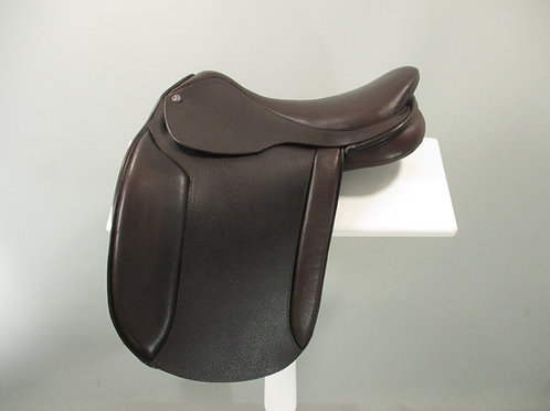 "Cavaletti Show Saddle 16.5"" BROWN"