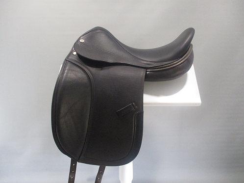 "Harry Dabbs Elegant Dressage Saddle 17.5"" M"