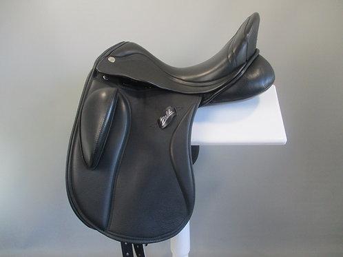 "Zaldi SanJorge  TM (adjustable block) Dressage Saddle 17""/17.5"" XW"