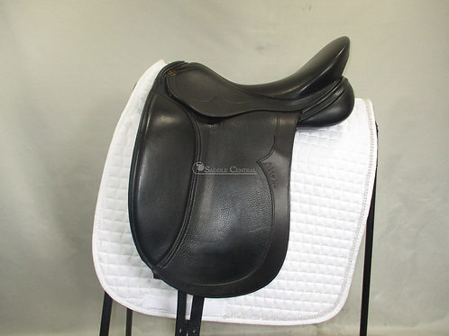 "Peter Horobin Alivia Mono flap Dressage Saddle 17.5"""