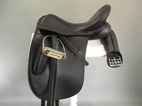 "Defiance Force Dressage Saddle 17"" MW"
