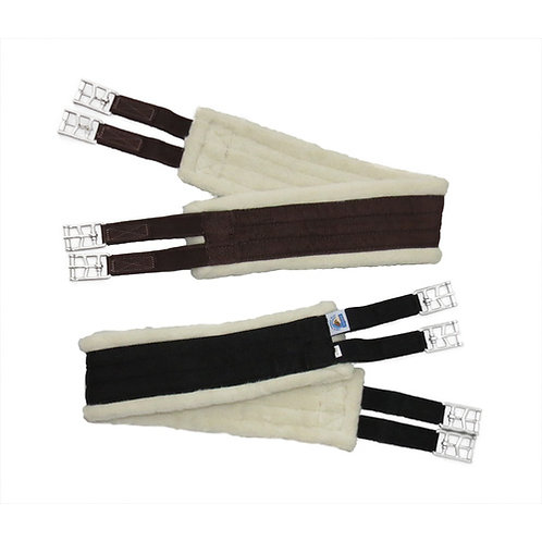 """EquineNZ Wool Lined Long Girth (to suit short girth points) 48"""", 50"""", 52"""""""