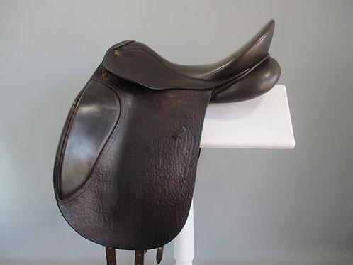 """Peter Horobin Sieger  Dressage Saddle 17"""" M BROWN"""