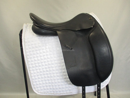 """Trainers Continental/Masters 17.5"""" Dressage Saddle"""