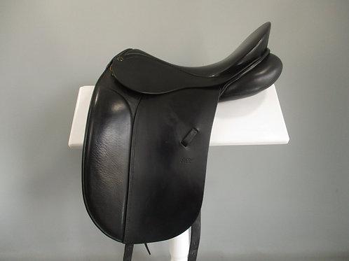 "Peter Horobin Classic Dressage Saddle 17"" W-XW"