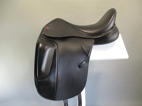 "Thorowgood T8 High Profile 17"" Dressage Saddle"