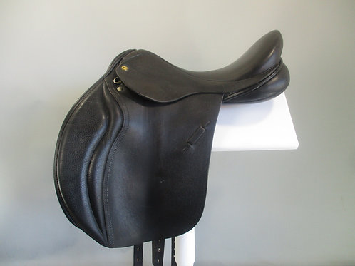 """Black Country Wexford Jump Saddle 17""""/17.5"""" XW"""