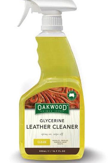 Oakwood Glycerine Leather Cleaner Spray 500ml