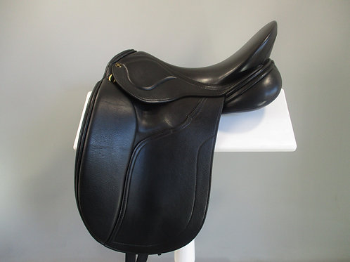 "Peter Horobin Amazone Dressage Saddle 17"" MW"