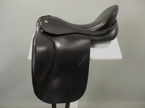 "Otto Schumacher Fusion 11 SF Dressage Saddle 18"" XW"