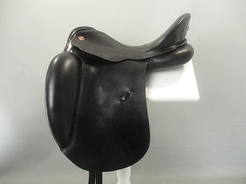 """Kieffer Ulla Salzgeber DP Dressage Saddle  17"""" MW"""