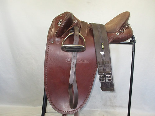 """Syd Hill Stock Saddle 17"""""""