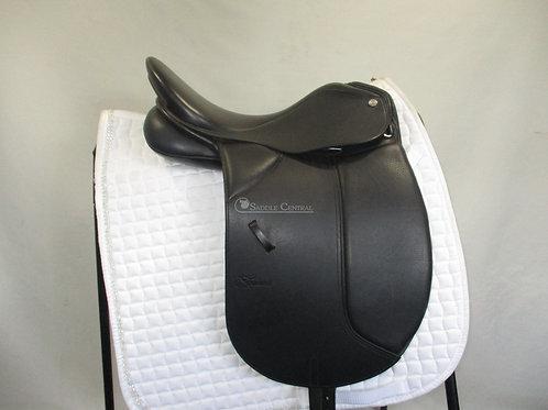 "Trainers Baron 16.5"" Dressage Saddle"