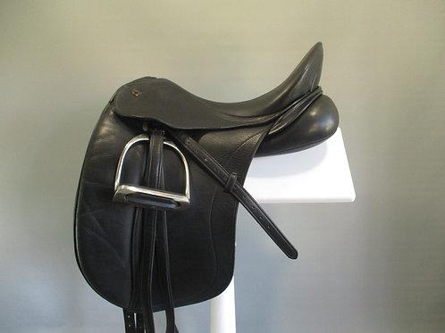 "Peter Horobin Liberty Dressage Saddle 17.5"" M"